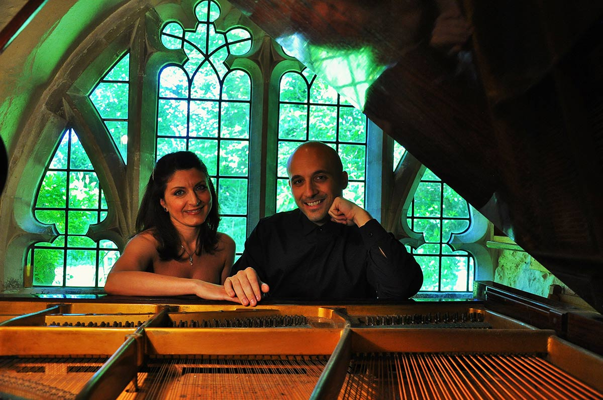 Piano Duet with Federica Nardacci