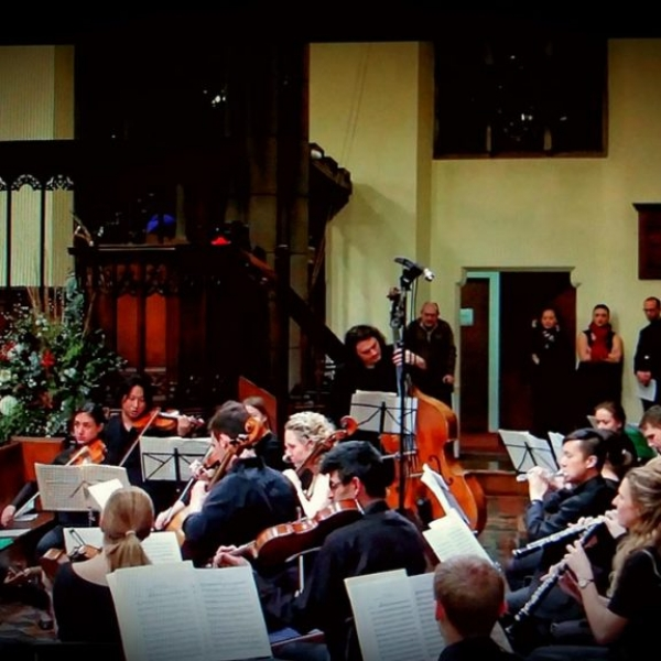 Performing with London Classical Soloists